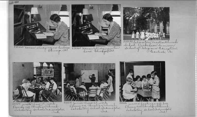 Mission Photograph Album - Religious Education #1 page 0120