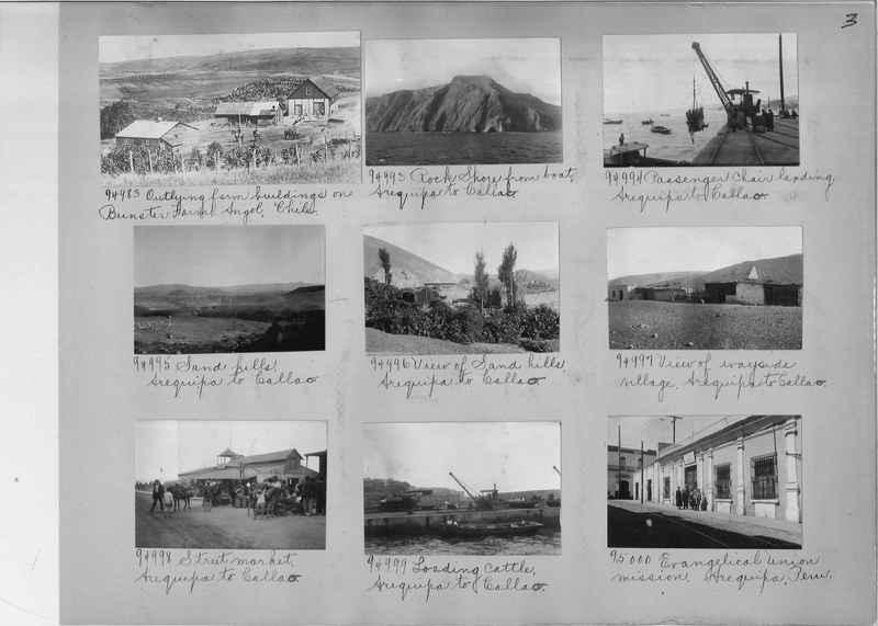 Misson Photograph Album - South America #8 page 0003