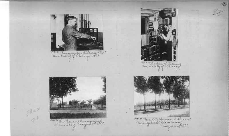Mission Photograph Album - Education #1 page 0095