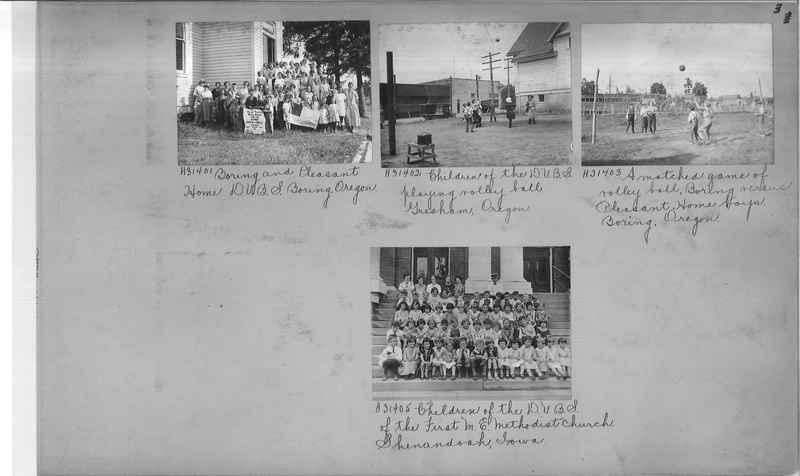 Mission Photograph Album - Religious Education #1 page 0003