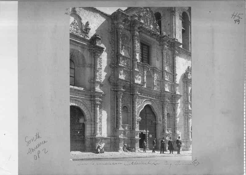 Mission Photograph Album - South America O.P. #2 page 0099