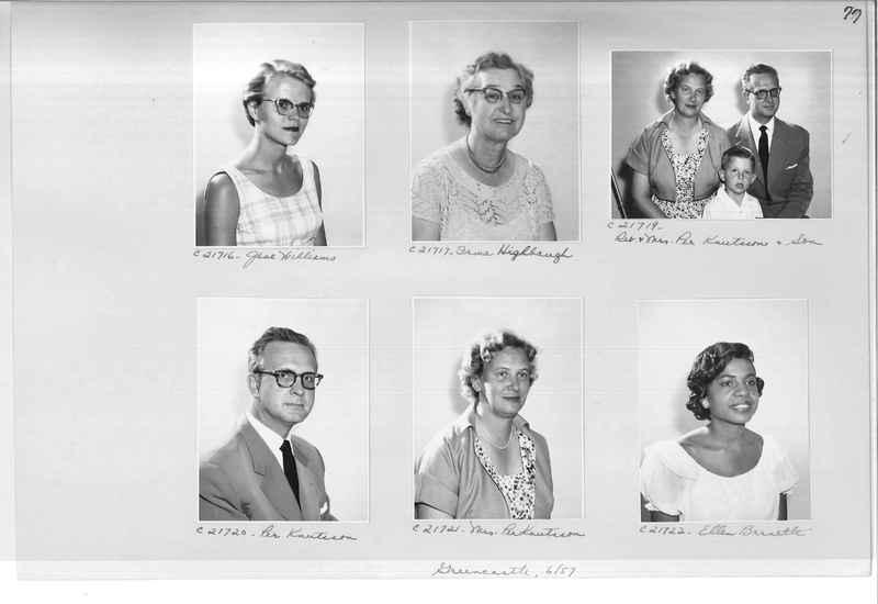 Mission Photograph Album - Portraits #10 Page 0077