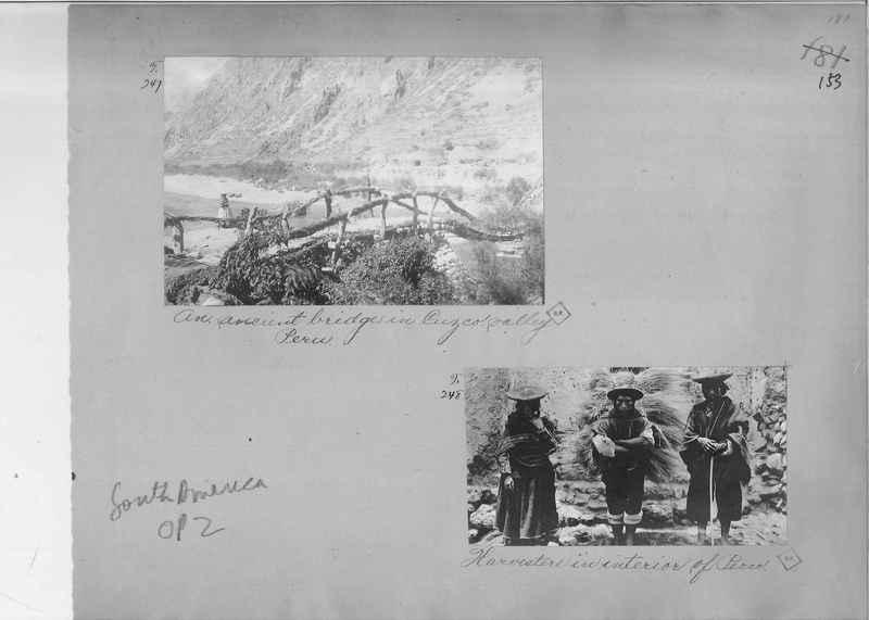 Mission Photograph Album - South America O.P. #2 page 0153