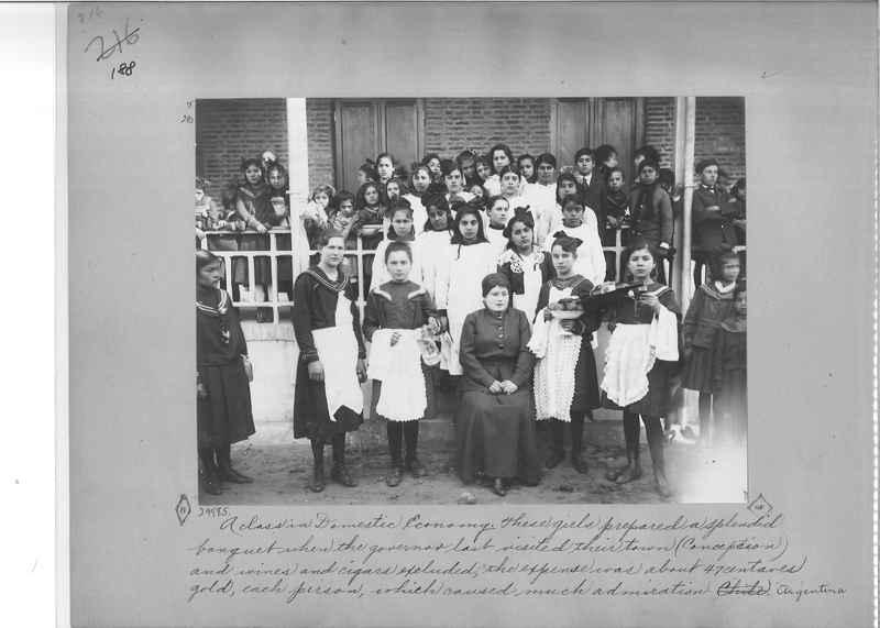 Mission Photograph Album - South America O.P. #2 page 0188
