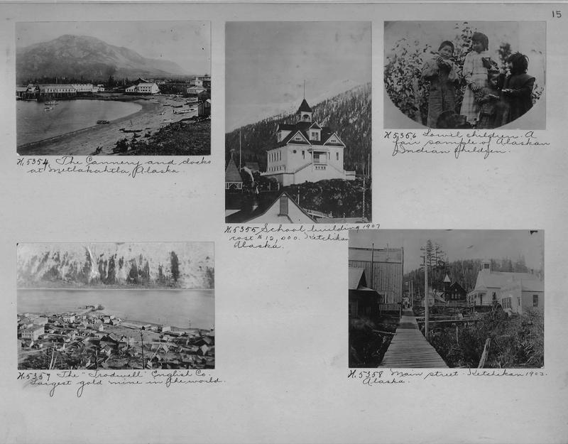 Mission Photograph Album - Alaska #1 page 0015