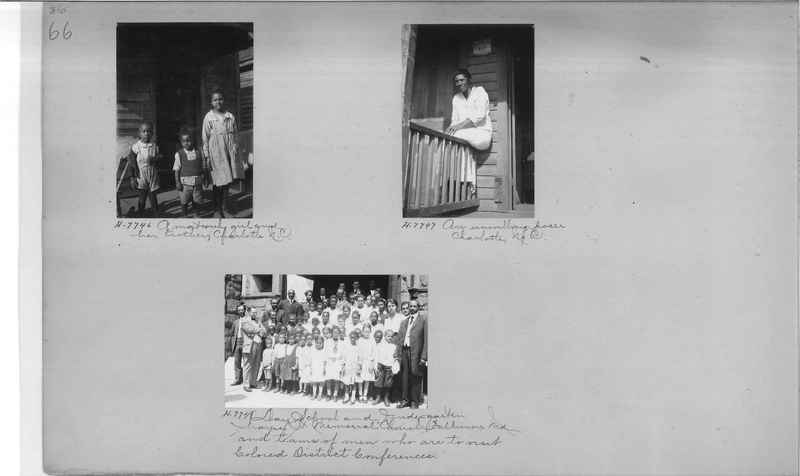 Mission Photograph Album - Negro #1 page 0066