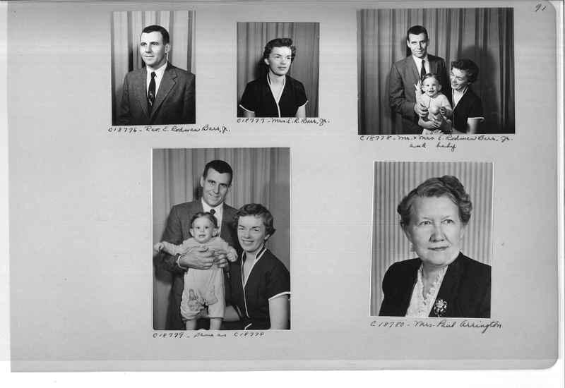 Mission Photograph Album - Portraits #08 Page 0091