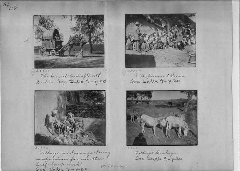 Mission Photograph Album - India - O.P. #01 Page 0114
