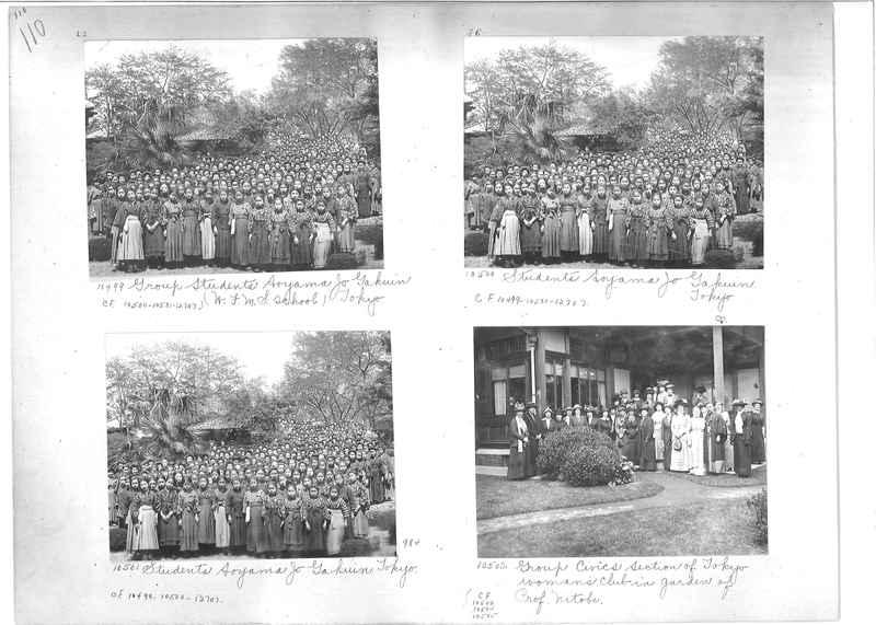 Mission Photograph Album -  Japan #01 Page 0110