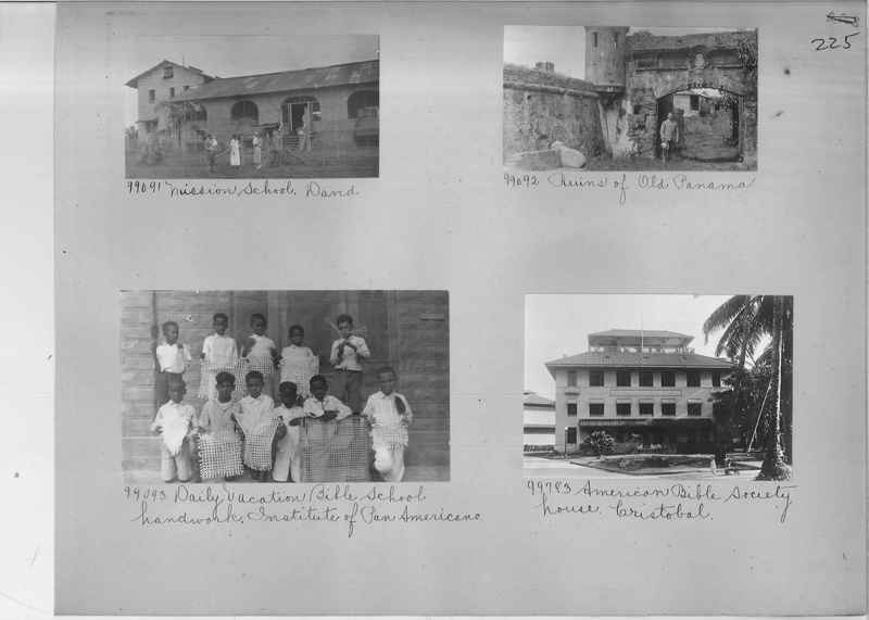Mission Photograph Album - Panama #04 page 0225