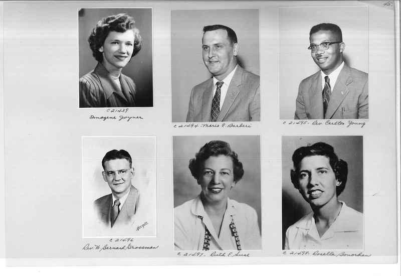 Mission Photograph Album - Portraits #10 Page 0045