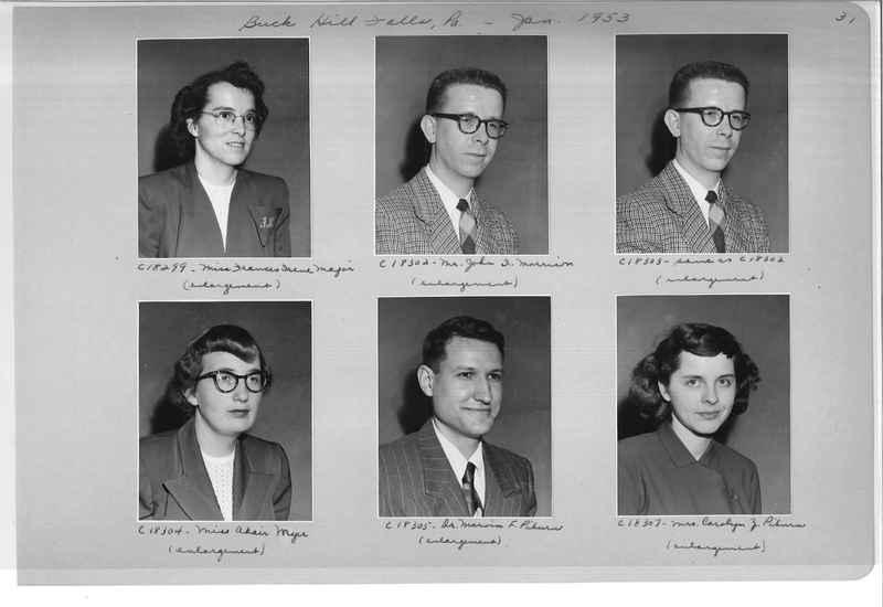 Mission Photograph Album - Portraits #08 Page 0031