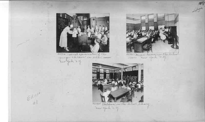 Mission Photograph Album - Education #1 page 0187