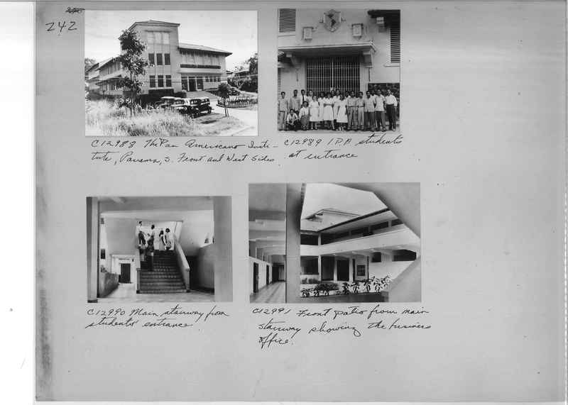 Mission Photograph Album - Panama #04 page 0242