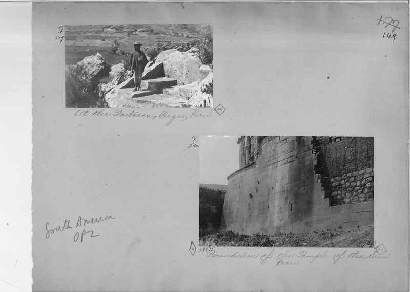 Mission Photograph Album - South America O.P. #2 page 0149