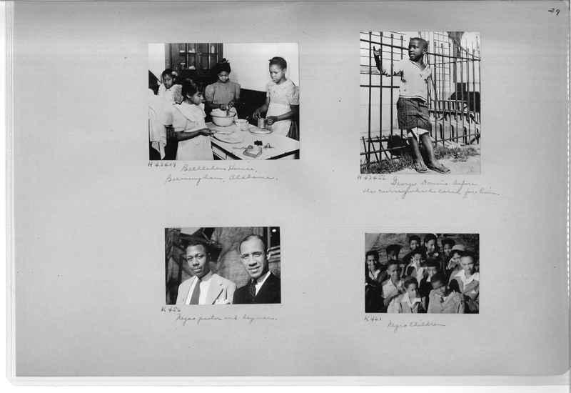 Mission Photograph Album - Negro #7 page 0029