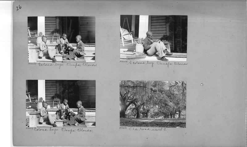Mission Photograph Album - Negro #6 page 0026