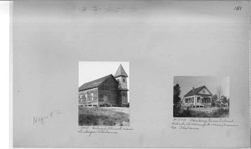Mission Photograph Album - Negro #2 page 0151