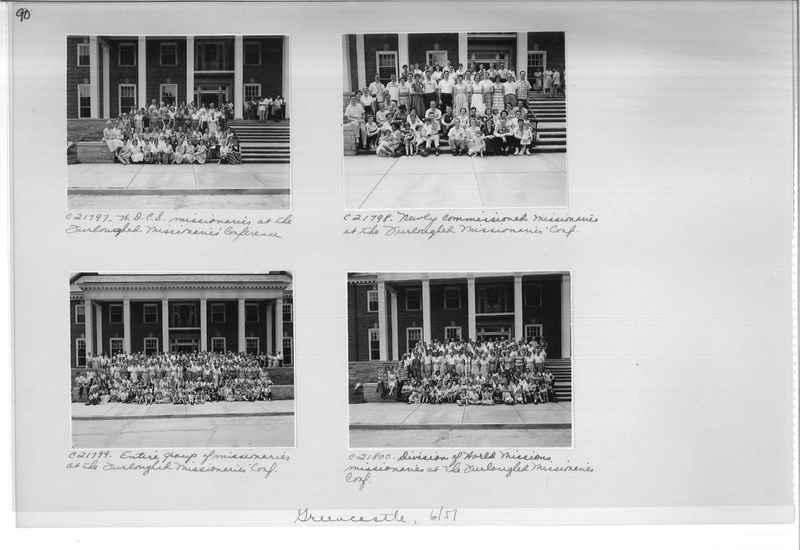 Mission Photograph Album - Portraits #10 Page 0090
