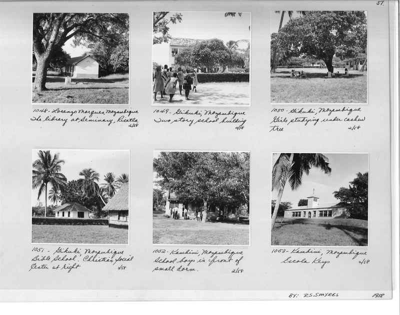 Mission Photograph Album - Africa #17 page 0057