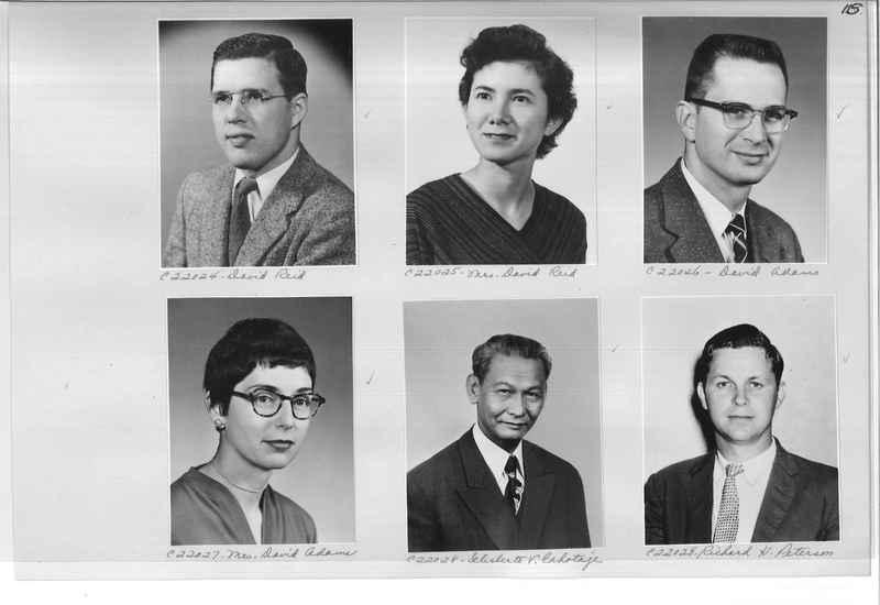 Mission Photograph Album - Portraits #10 Page 0115