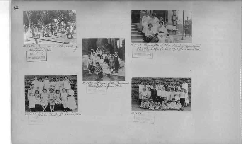 Mission Photograph Album - Cities #4 page 0062