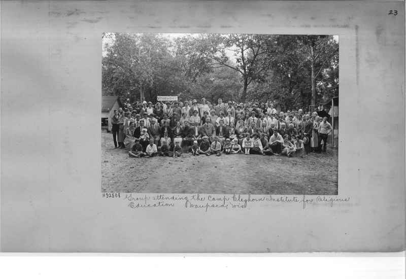 Mission Photograph Album - Religious Education #1 page 0023