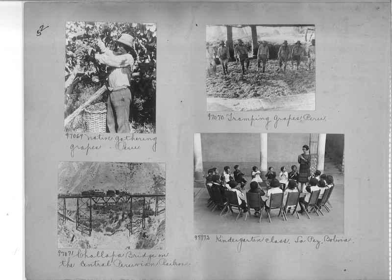 Misson Photograph Album - South America #8 page 0052