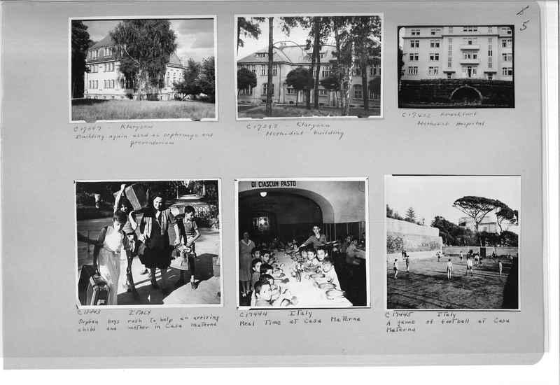 Mission Photograph Album - Europe #10 Page 0005