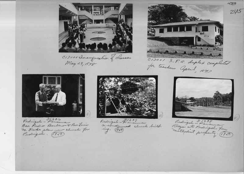 Mission Photograph Album - Panama #04 page 0245