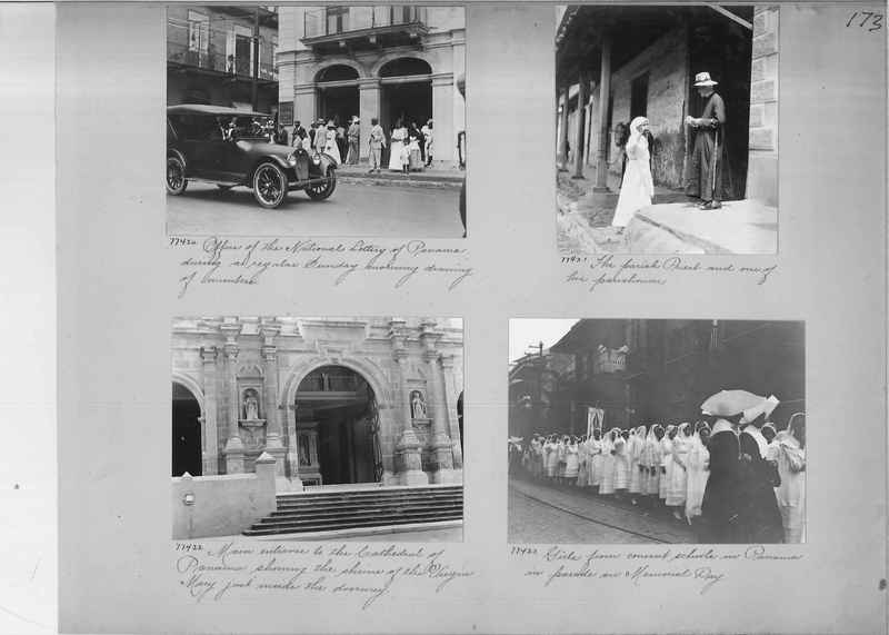 Mission Photograph Album - Panama #03 page 0173