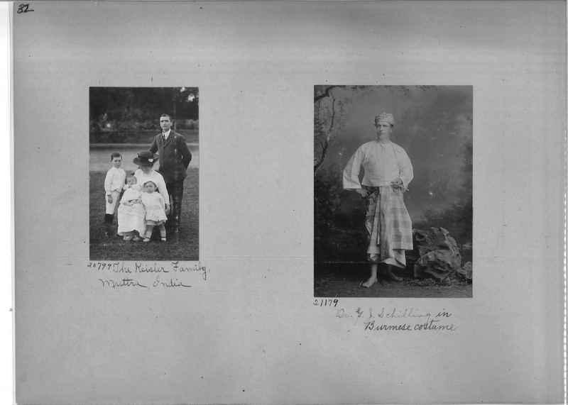 Mission Photograph Album - Portraits #1 page 0032