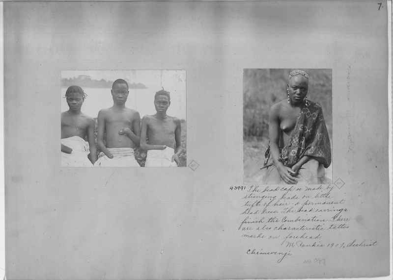 Mission Photograph Album - Africa - Madeira O.P. #2 page 0007