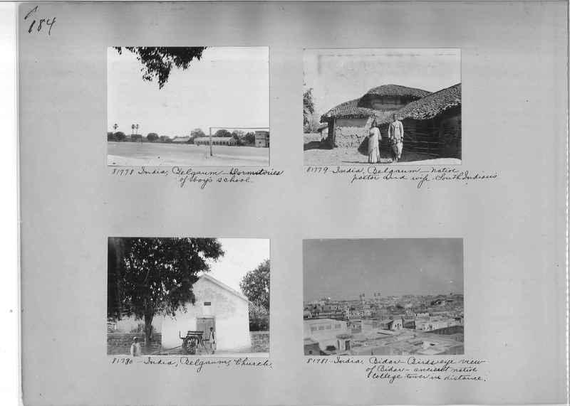 Mission Photograph Album - India #09 Page 0184