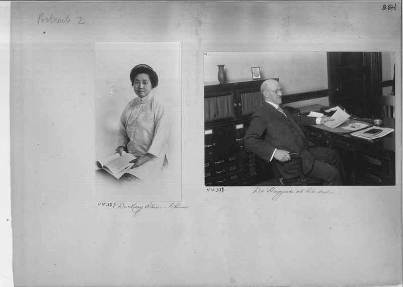 Mission Photograph Album - Portraits #2 page 0221