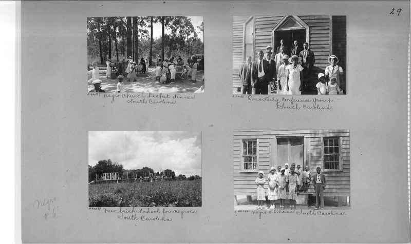 Mission Photograph Album - Negro #6 page 0029