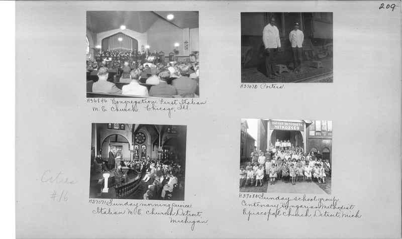 Mission Photograph Album - Cities #16 page 0209