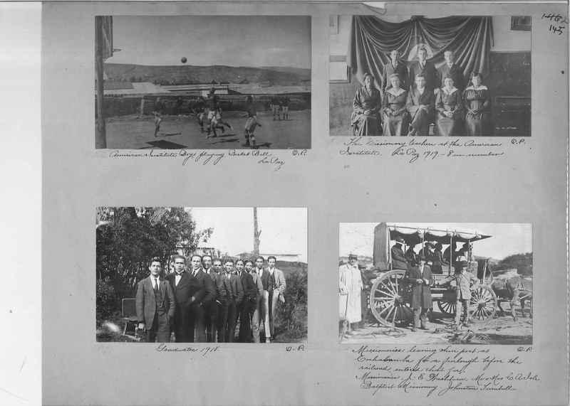 Mission Photograph Album - South America O.P. #1 page 0145