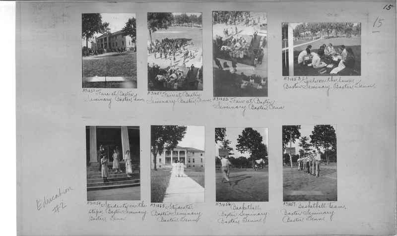 Mission Photograph Album - Education #2 page 0015