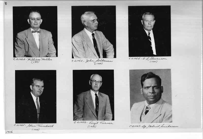 Mission Photograph Album - Portraits #10 Page 0008