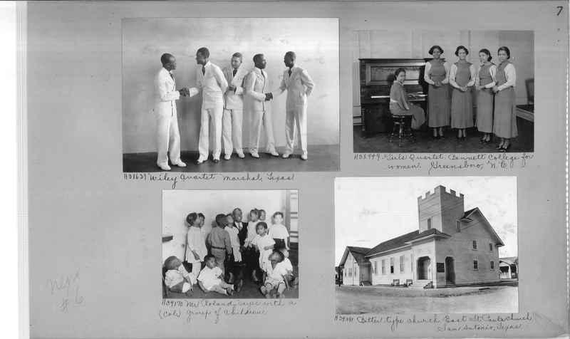 Mission Photograph Album - Negro #6 page 0007
