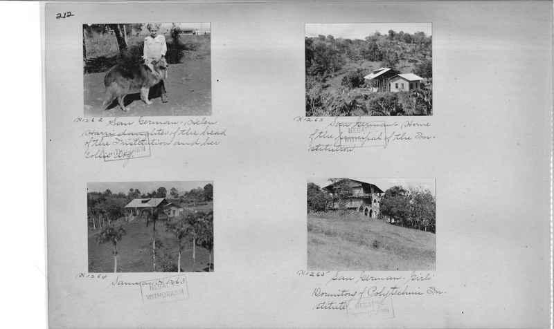 Mission Photograph Album - Puerto Rico #2 page 0212