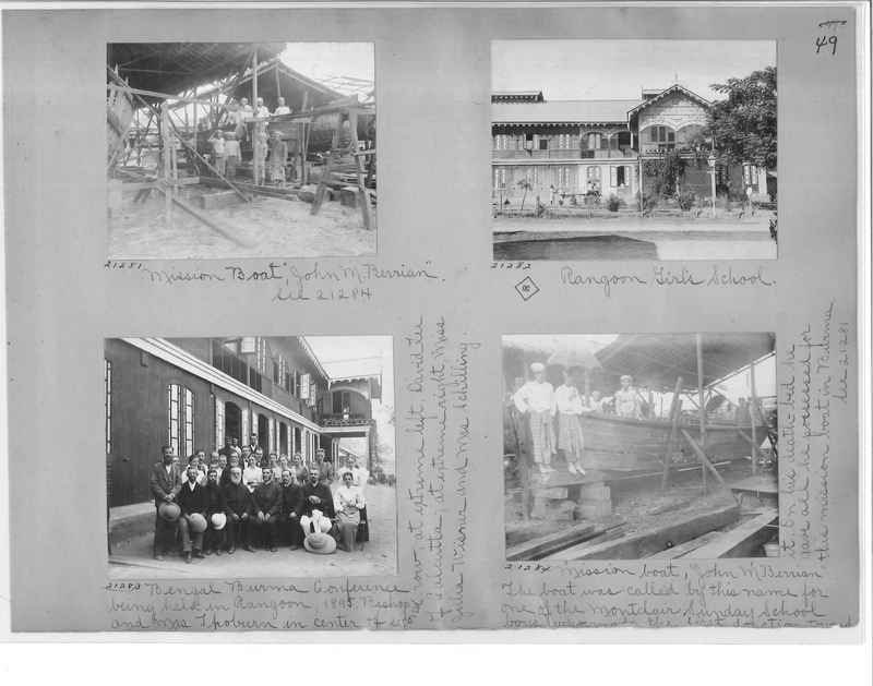 Mission Photograph Album - Burma #1 page 0049
