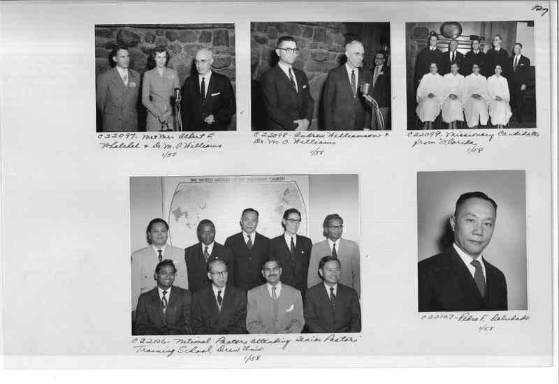 Mission Photograph Album - Portraits #10 Page 0127