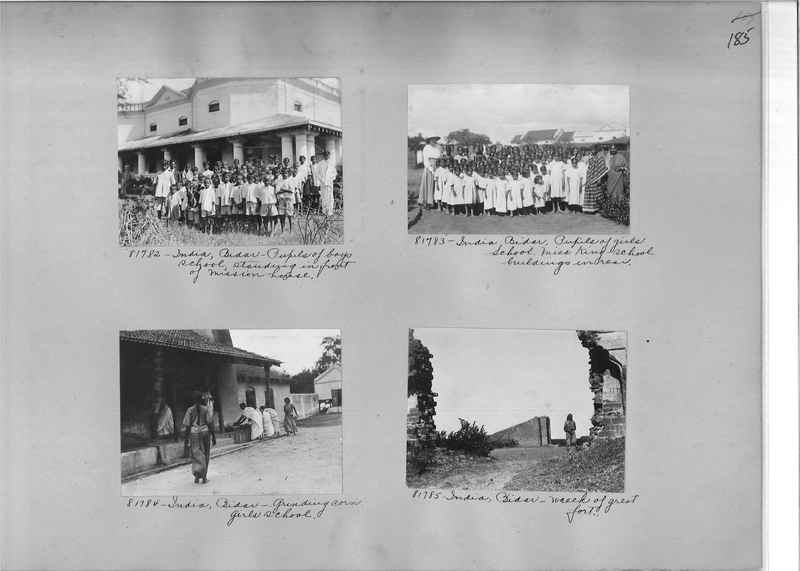 Mission Photograph Album - India #09 Page 0185