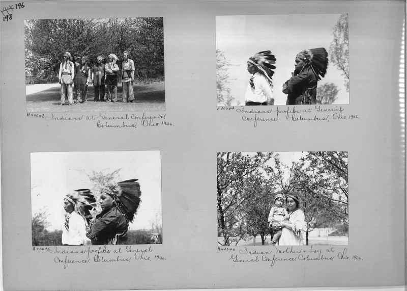 Mission Photograph Album - Indians #2 page_0198