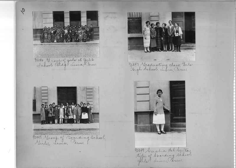 Misson Photograph Album - South America #8 page 0010