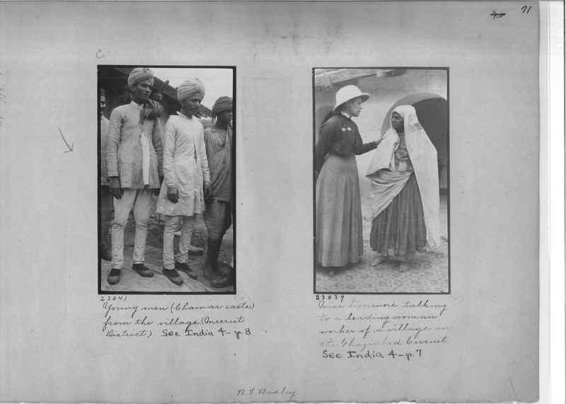 Mission Photograph Album - India - O.P. #01 Page 0071