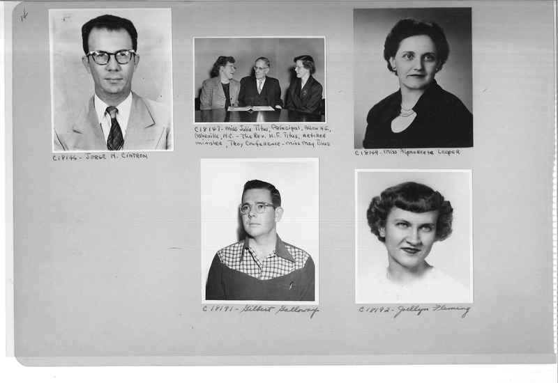Mission Photograph Album - Portraits #08 Page 0014