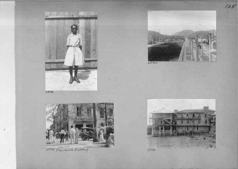 Mission Photograph Album - Panama #02 page 0125